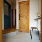 ヴィンテージ玄関