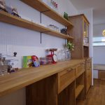 造作 キッチン収納棚